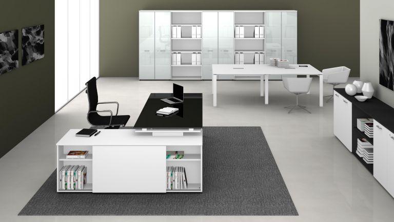 Mobili ed arredamento per ufficio fumu for Mobili design ufficio