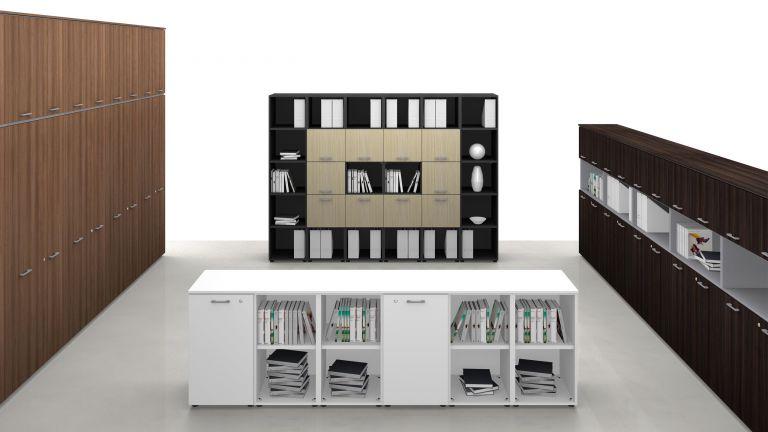 Mobili per ufficio moderni dal design attento ai - Mobili particolari moderni ...